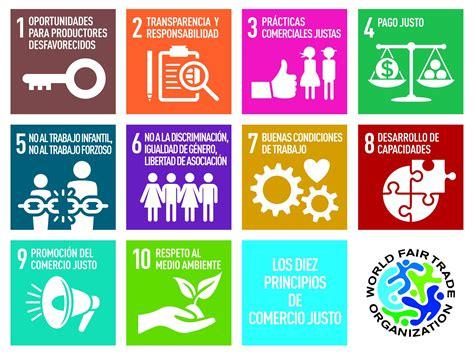 10 Principios Comercio Justo internacional   Comercio ...