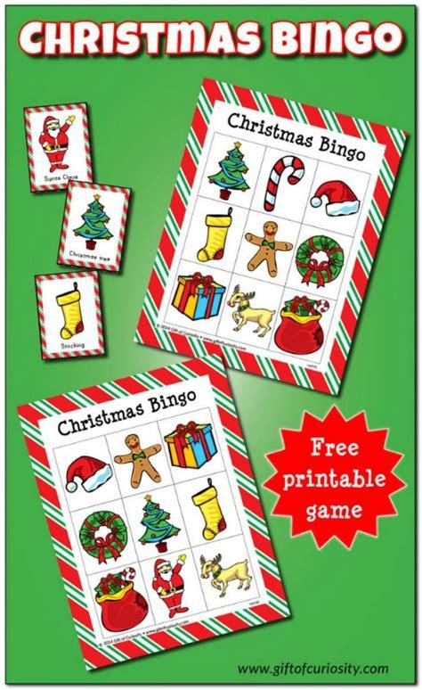 10 Printable Christmas Activities for Kids
