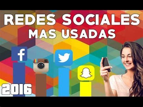 10 Redes Sociales mas usadas 2016 | MendezBlogs   YouTube