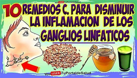 10 Remedios para Disminuir Inflamación de Ganglios ...
