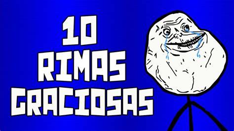 10 Rimas graciosas #3   YouTube