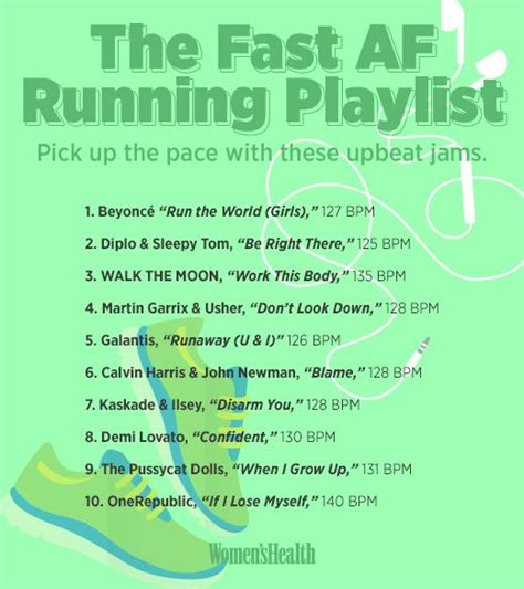 10 Songs Guaranteed to Help You Run Faster   ejercicios ...