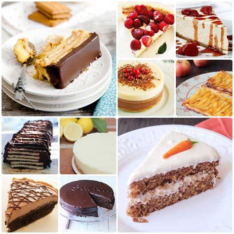 10 tartas caseras, ¿cuál te gusta más?...   PequeRecetas