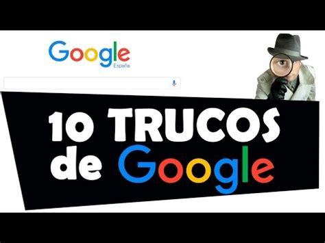 10 trucos de GOOGLE   YouTube