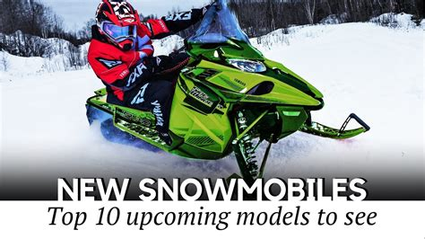 10 Upcoming Snowmobiles for 2020 2021 Winter Seasons  New ...