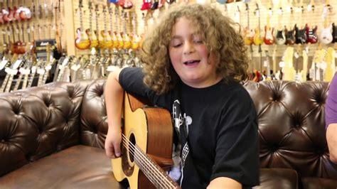 10 year old Elie Samouhi singing Tom Petty  Runnin  Down A ...