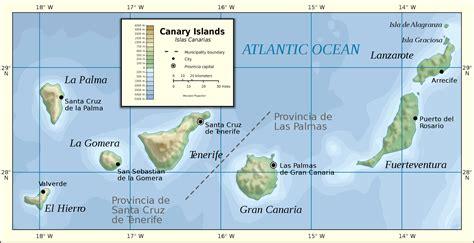 100 Años de Aviación en Canarias: Situación geográfica de ...