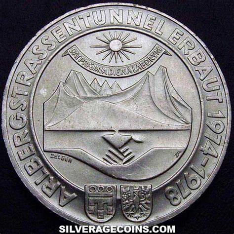 100 Chelines de Plata Austriacos  Túnel Arlberg  de 1978 ...
