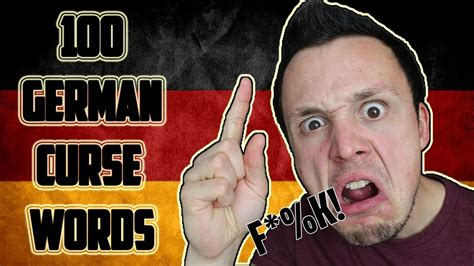100 German Curse Words   YouTube