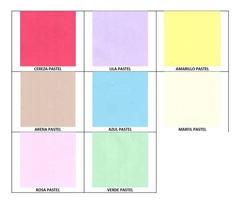 100 Hojas De Color Pastel Carta  8 Colores A Escoger ...