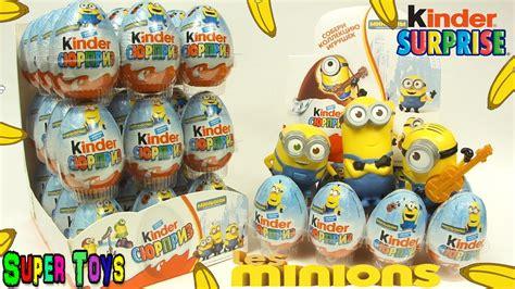 100 Kinder Surprise Minions NEW/ 100 Киндер Сюрприз ...