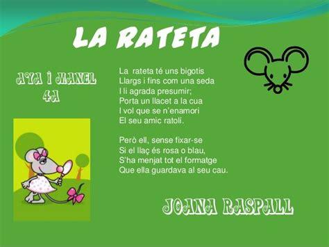 100 poemes joana raspall | Verbal, Lectura, Felicitats