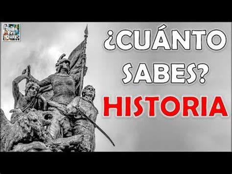 100 Preguntas de  HISTORIA  Test/Trivial/Quiz | 100 ...
