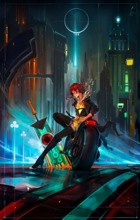 1000+ images about Transistor Wallpapers on Pinterest