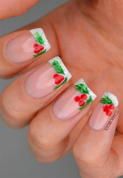 1001 + ideas de bonitos y elegantes diseños de uñas navideñas