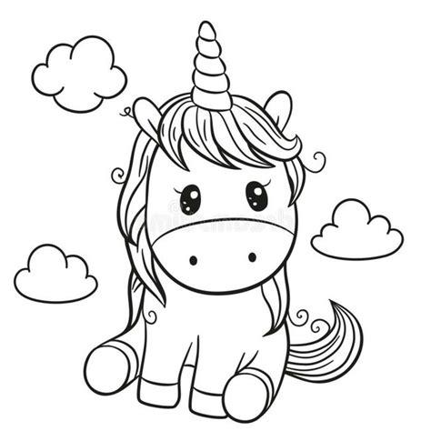 1001 + ideas de dibujos de unicornios bonitos y fáciles en ...