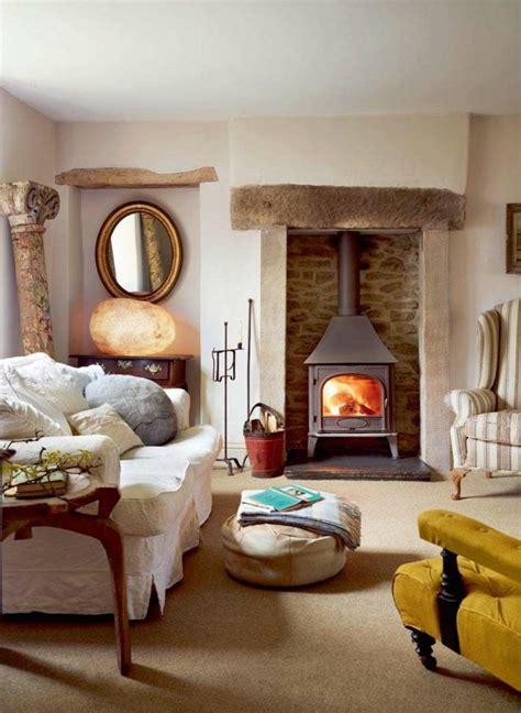 1001+ ideas sobre salones acogedores con chimeneas de leña ...