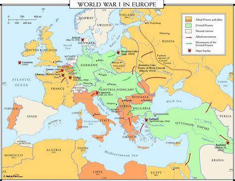 100th Anniversary of World War 1 : MapPorn