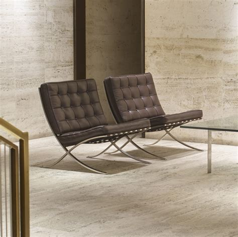 101: LUDWIG MIES VAN DER ROHE, Barcelona chairs from the ...