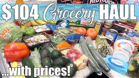 $104 Walmart Grocery Delivery Haul & Meal Plan | May 2020 ...
