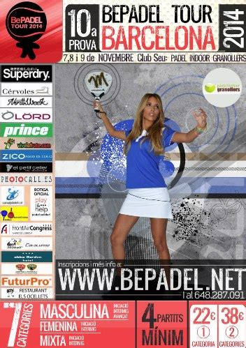 10a prueba bepadel tour barcelona en el Padel indoor ...