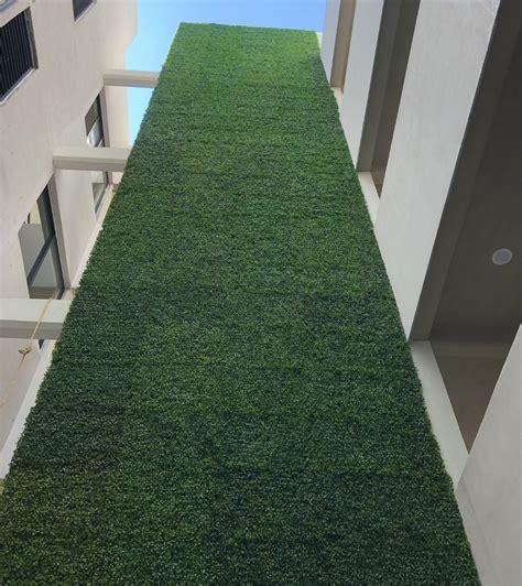 10pza Muro Verde Follaje Artificial Sintetico Jardin ...