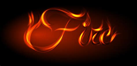 11 Cool Fire Fonts Images   Fire Text Effect Photoshop ...