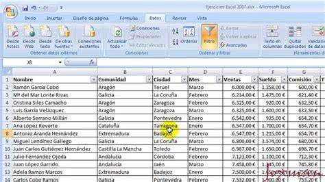 11 Excel avanzado: Ordenar, filtrar y agrupar   YouTube
