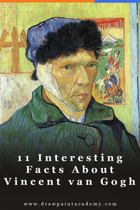 11 Interesting Facts About Vincent van Gogh   Draw Paint ...