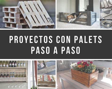 11 proyectos con palets paso a paso | DIY / Hazlo tu mismo ...