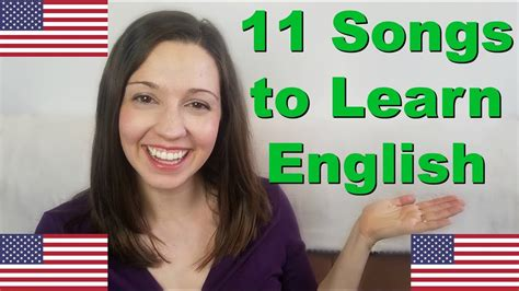 11 Songs for English Fluency [Learn English With Music ...