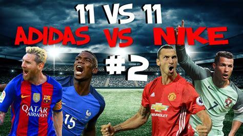 11 vs 11   #2 Jugadores Botas Adidas vs Jugadores Botas ...