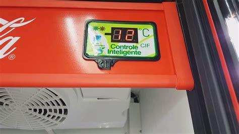 115   Como regular a temperatura geladeira coca cola ...