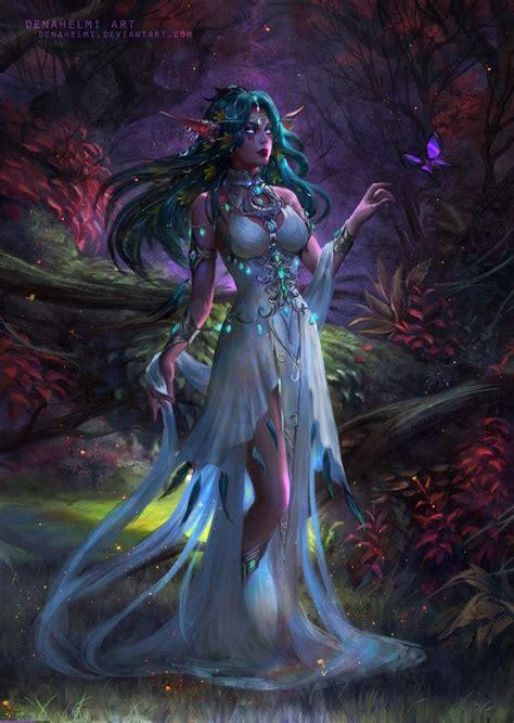 116 best TYRANDE images on Pinterest   Warcraft art, Night ...