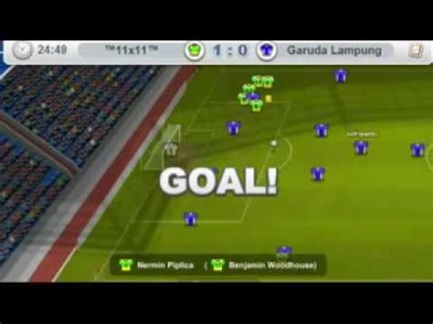 11x11 Online Football Manager  Friendly Match    YouTube