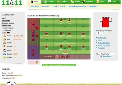 11x11 Online Football Manager on mmofacts.com