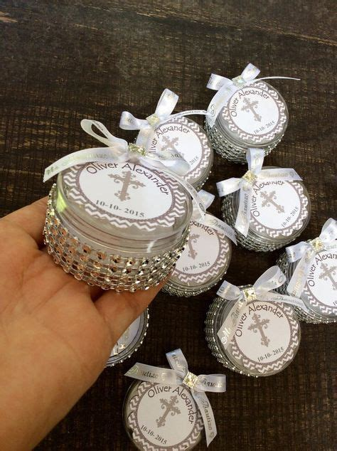 12 baptism favors boxes with mini rosaries  girl Baptism ...