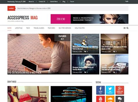 12 Best WordPress Themes for Multiple Author Blogs in 2016 ...