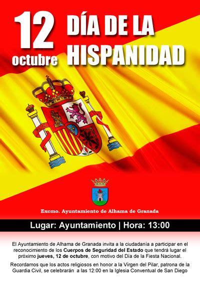 12 de octubre, acto institucional con motivo del Día de la ...