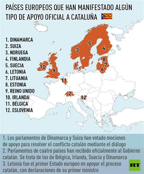 12 países de Europa apoyan la independencia de Cataluña ...