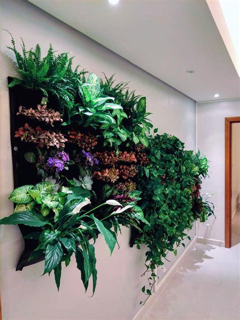 12 Pocket Indoor Waterproof Vertical Living Wall Planter ...