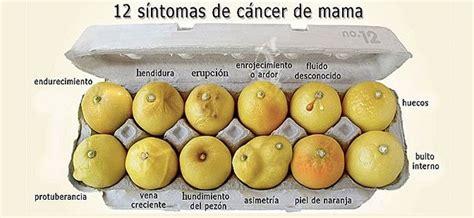 12 signos y señales que pueden indicar un cáncer de mama