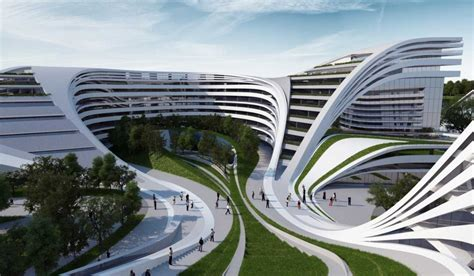 13 best works from Zaha Hadid, who won architecture's ...
