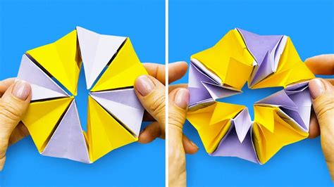 13 EASY AND COOL ORIGAMI IDEAS   YouTube
