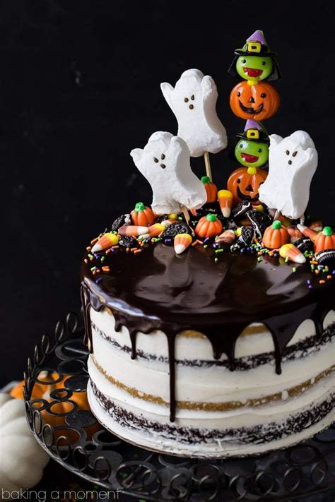 13 Ghoulishly Festive Halloween Birthday Cakes   Southern ...