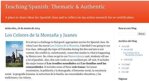 13 Spanish Teacher Blogs You Don t Want to Miss