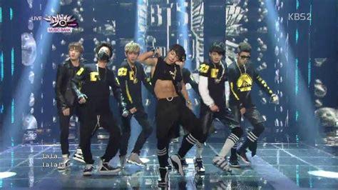 [130628] BTS   No More Dream @ Music Bank   YouTube
