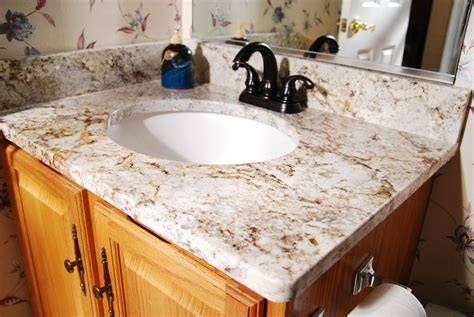 14 Genius Ideas How to Makeover Granite Bathroom Sink ...