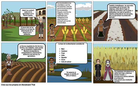 1424_Agricultura en la Nueva España Storyboard