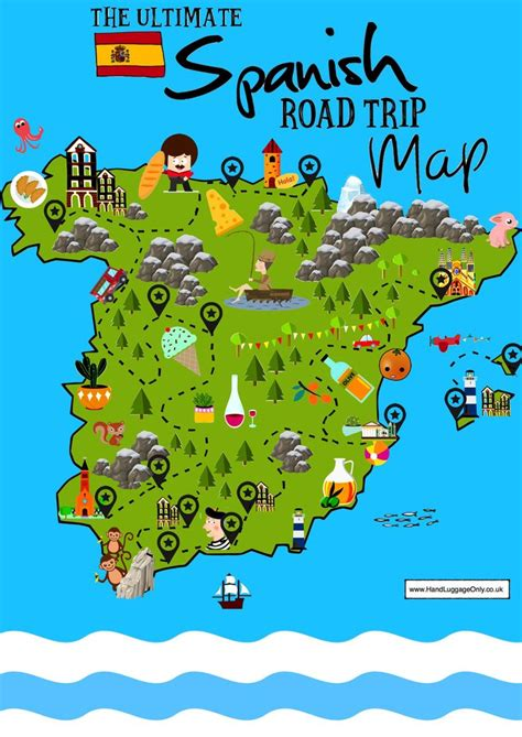 15 Beautiful Places To Visit In Spain – Interactive Map ...